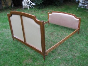 Vintage King Size French Bed - rt43